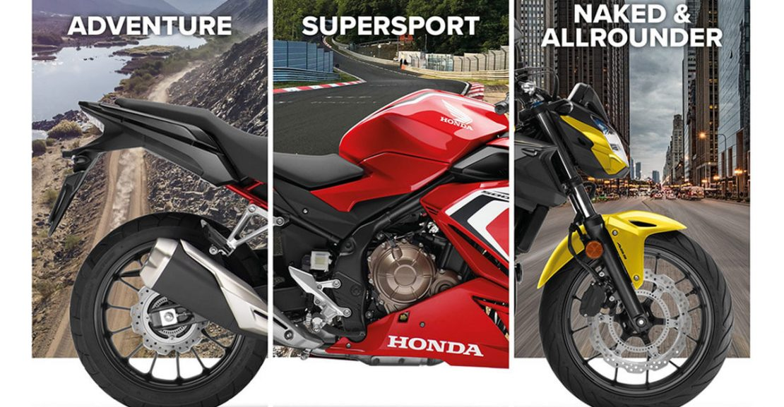 2021 Honda CB500F CB500X CBR500R Featured Image
