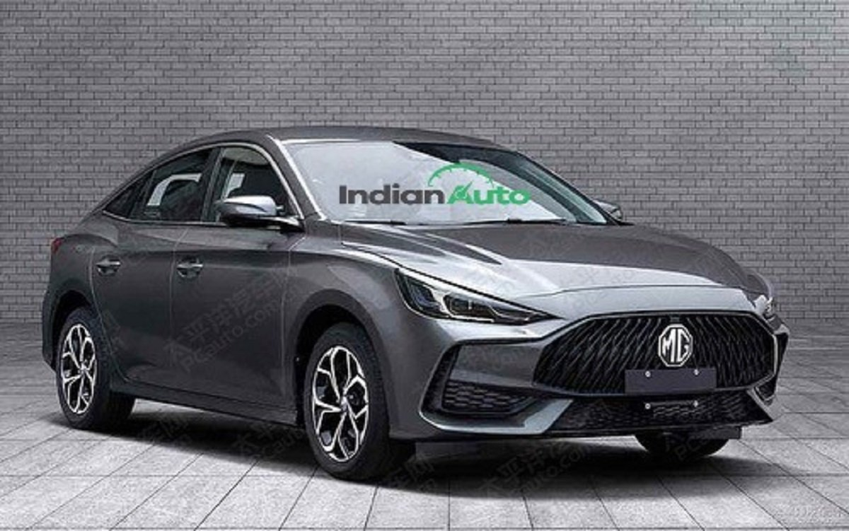 2021 MG5 Sedan Leaks Online 2