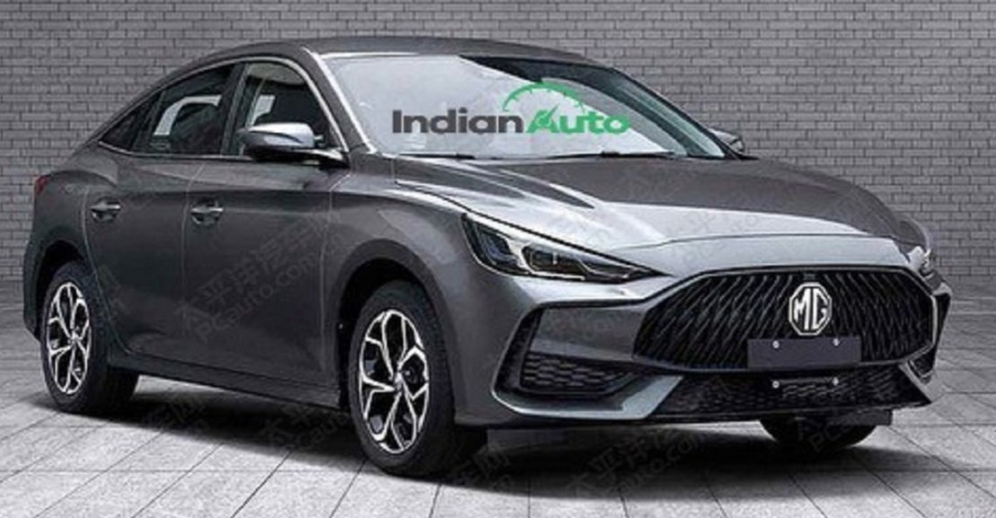 2021 MG5 Sedan Leaks Online Featured Image