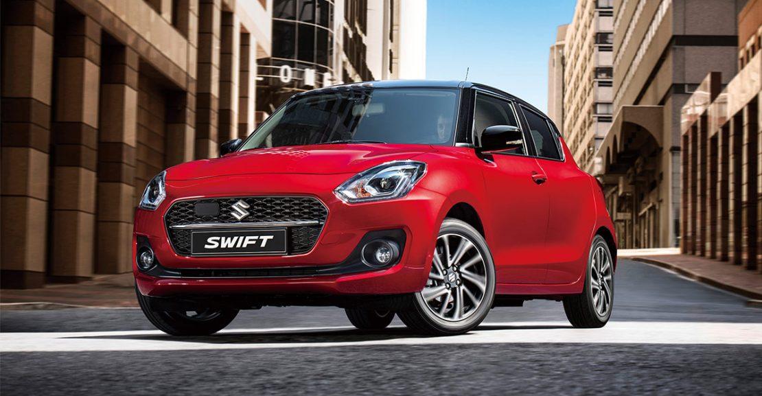 2021 Suzuki Swift Facelift Europe Featured Image