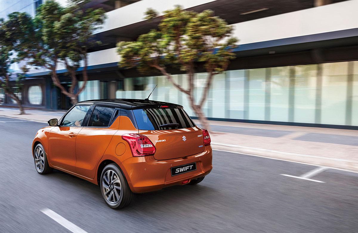 2021 Suzuki Swift Facelift Europe Image3