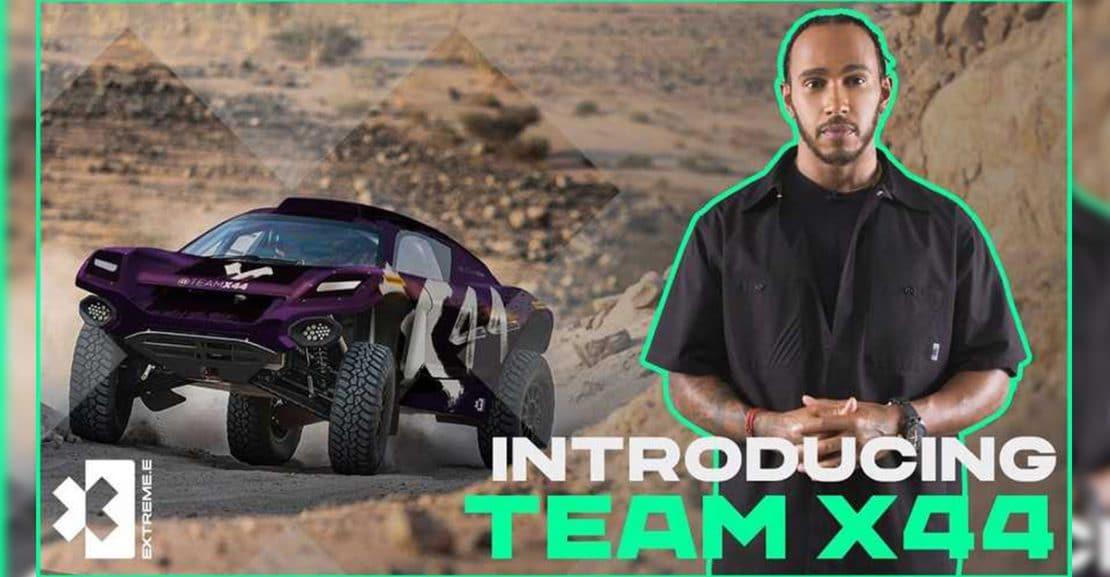 Extreme E Lewis Hamilton Featured Image