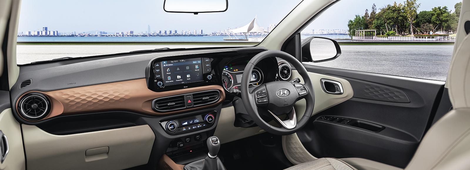 Hyundai Aura Price Nepal Interior Image1