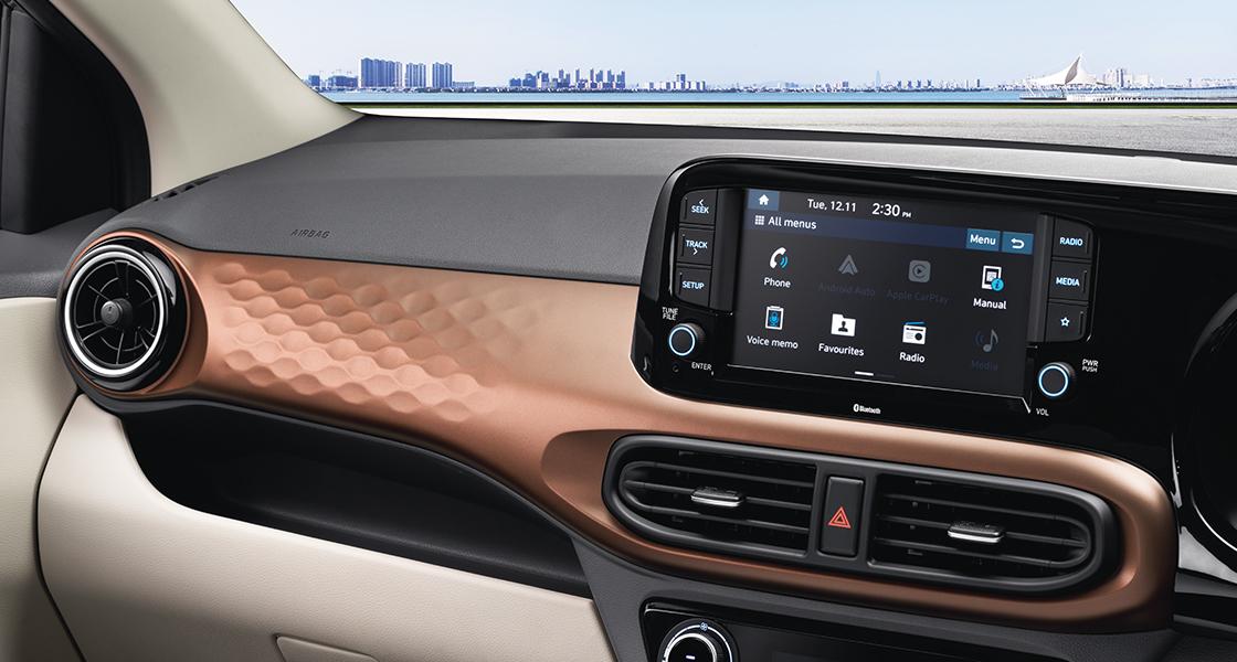Hyundai Aura Price Nepal Interior Image2