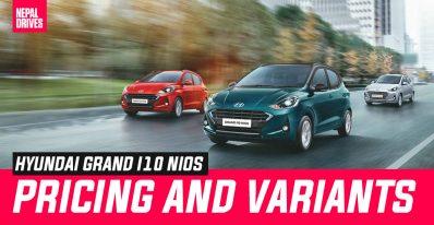 Hyundai Grand i10 Nios Price Variants Nepal Featured Image2