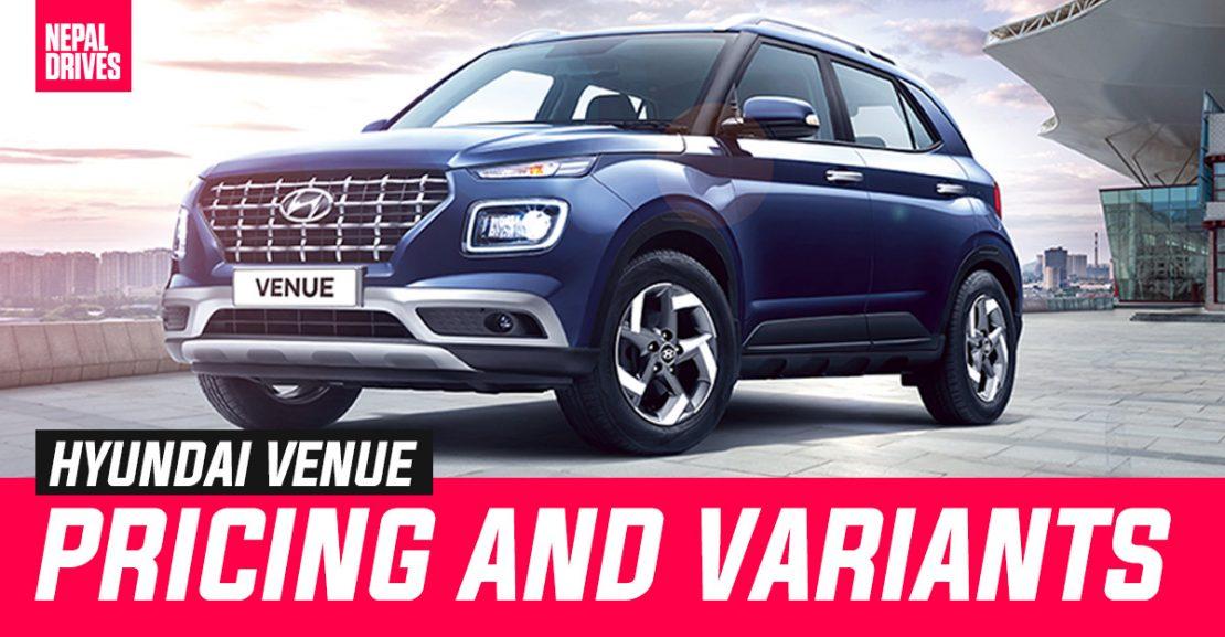 Hyundai Venue Price Nepal Variants Featured Image