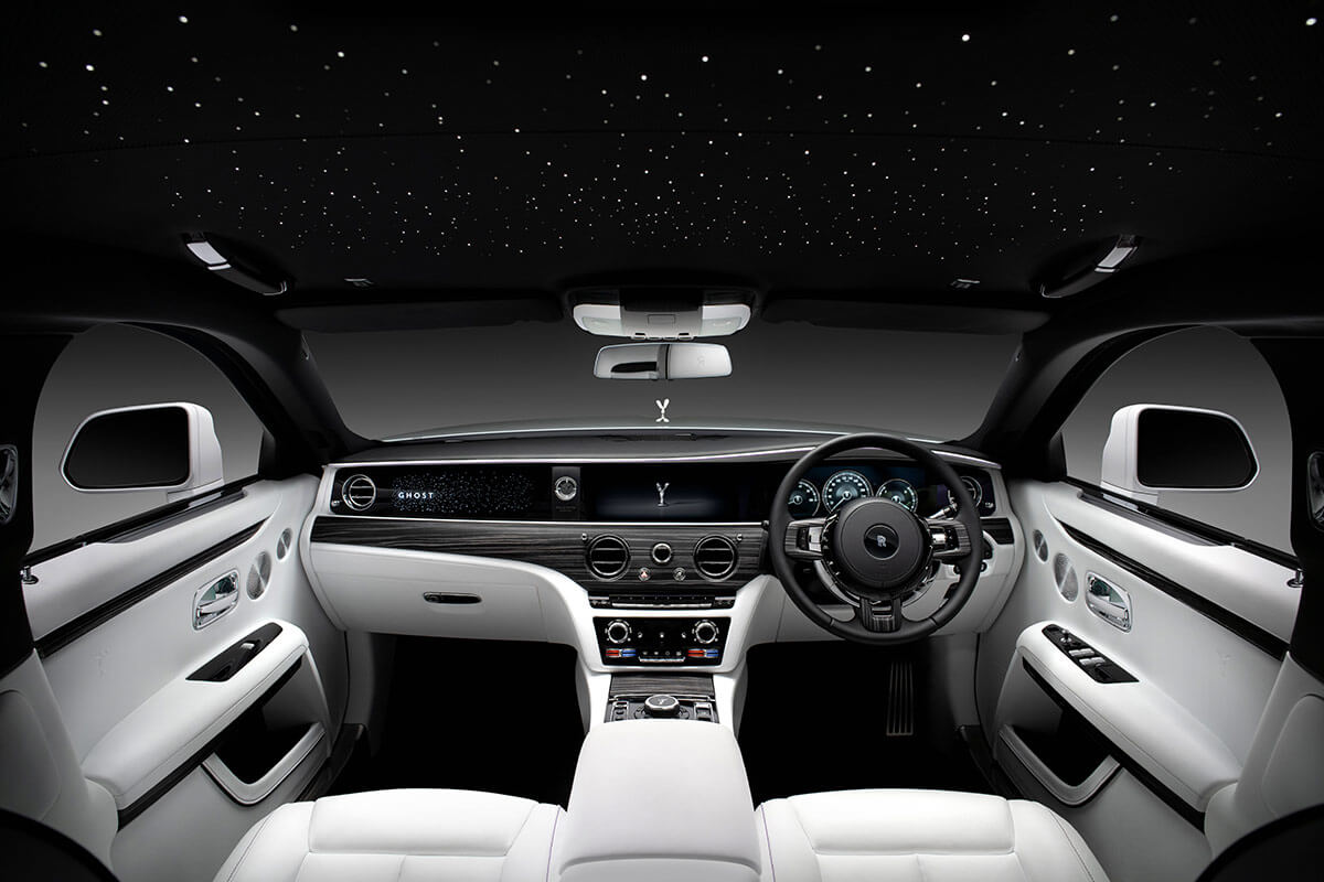 New Rolls Royce Ghost Image Interior