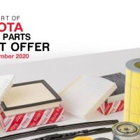 Toyota Genuine Parts Offer Featured Image