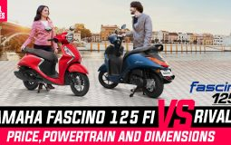 Yamaha Fascino 125 FI Nepal Scooter Comparison Price Features Featured Image
