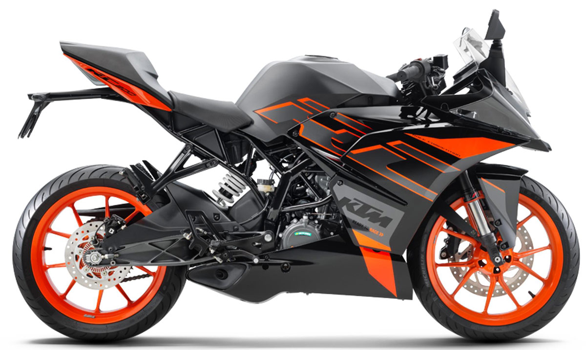 new ktm rc 200 sportsbike