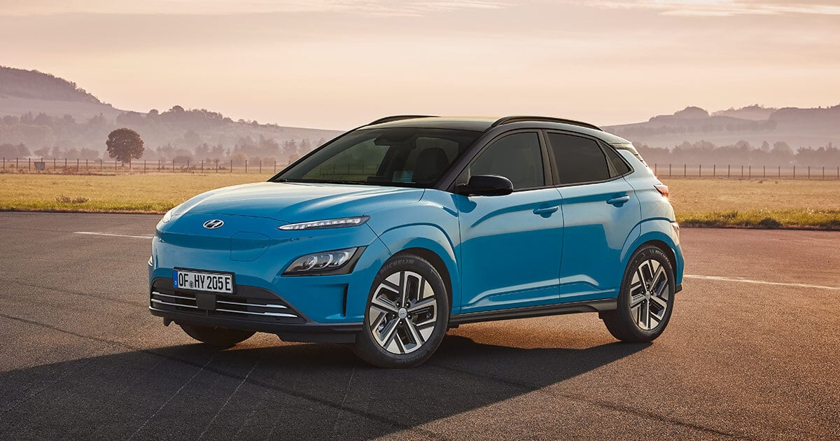 2021 Hyundai Kona Electric Comes With A Series Of Updates ...