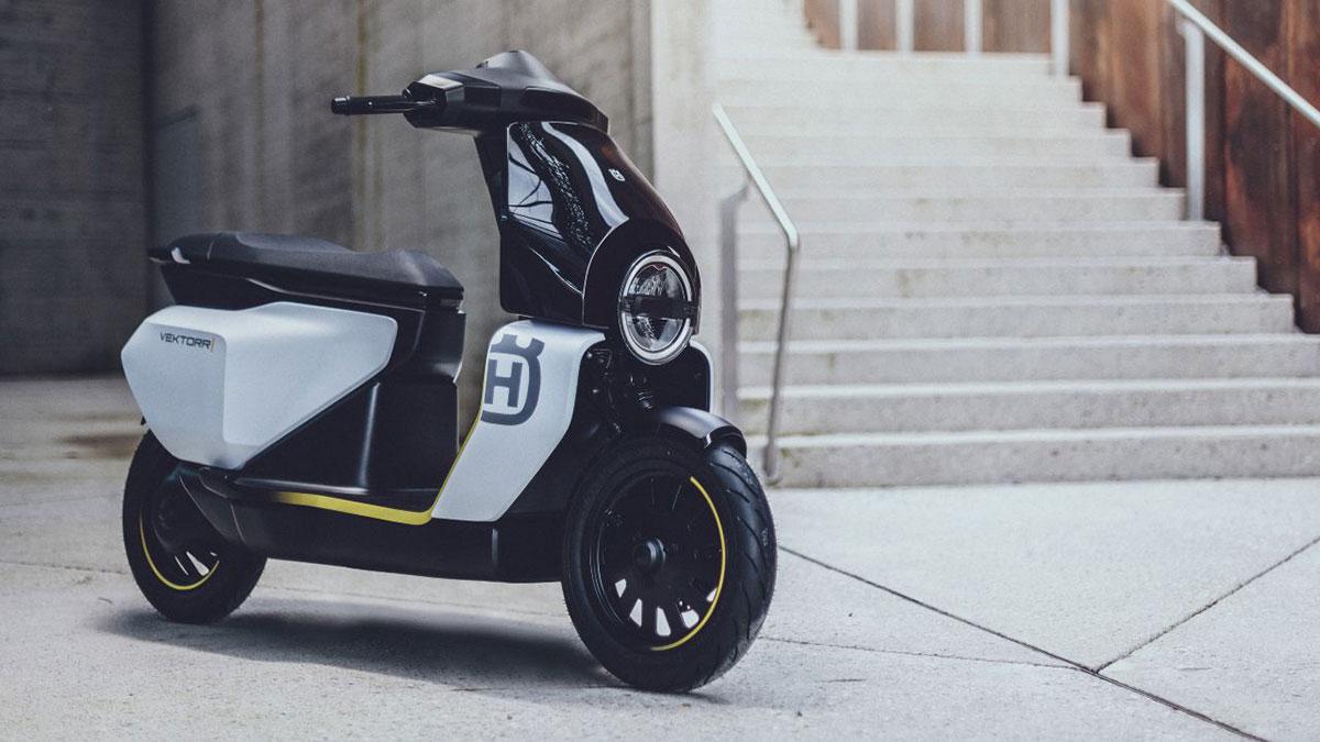 Husqvarna Vektorr Electric Scooter Concept 2