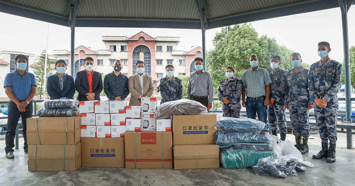 NADA Nepal APF Hospital Assistance Covid19 2021 Image1