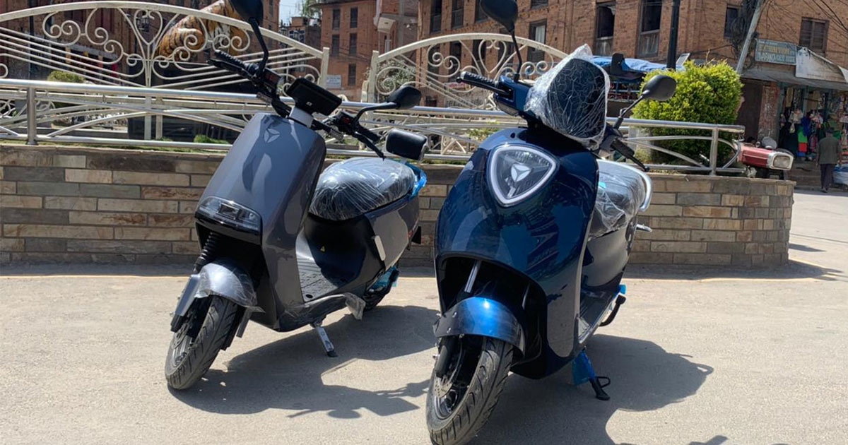 Yadea Electric Scooters C1S G5 Nepal Featured Image